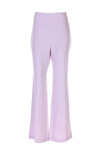angel nina pantalons femme de couleur violet
