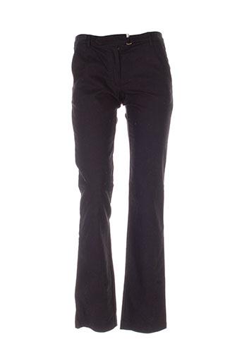 vanessa bruno pantalons femme de couleur noir