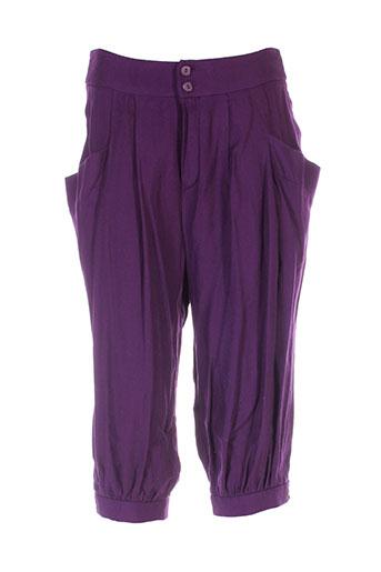 serena kay pantacourts femme de couleur violet