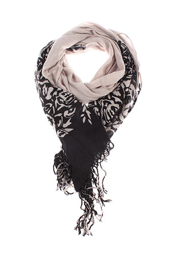 caroll foulards femme de couleur beige