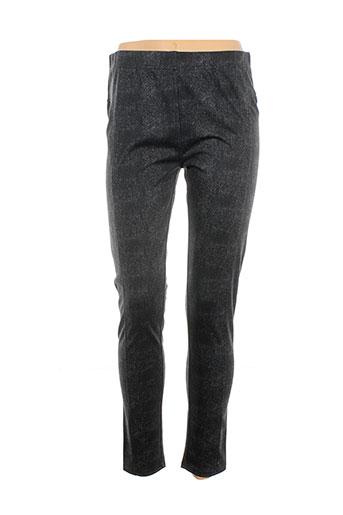 surkana pantalons femme de couleur gris