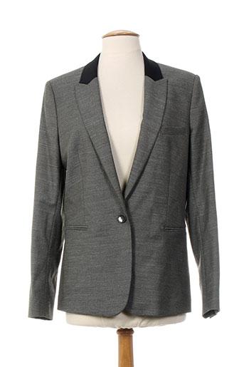 Veste chic / Blazer gris AN FAMILLE pour femme