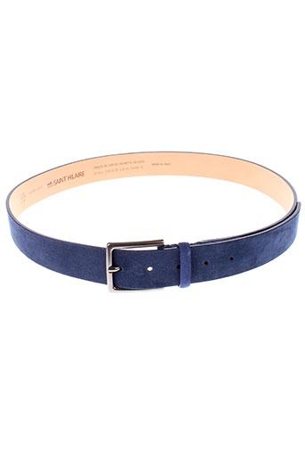 bruno saint hilaire accessoires homme de couleur bleu