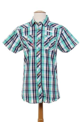 mzgz chemises homme de couleur vert