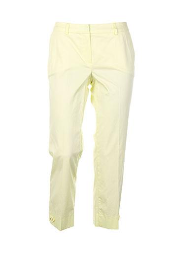 nuni pantacourts femme de couleur jaune