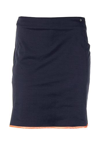 nuni jupes femme de couleur bleu