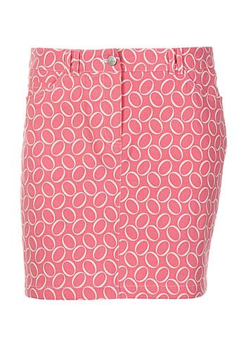 nuni jupes femme de couleur rose