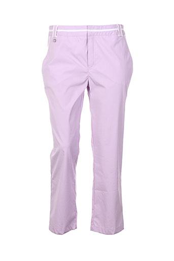 nuni pantacourts femme de couleur violet
