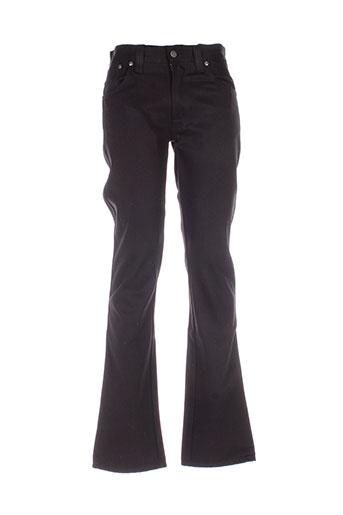nudie jeans co pantalons homme de couleur noir