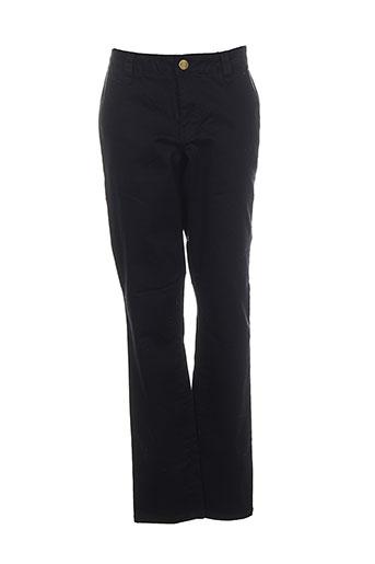 vila pantalons femme de couleur noir