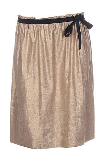 dixie jupes femme de couleur beige