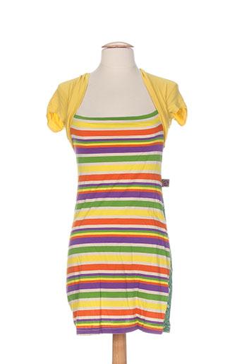 cheshire robes femme de couleur jaune
