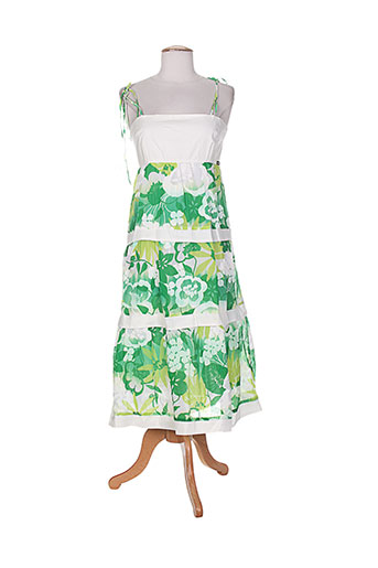 cheshire robes femme de couleur vert