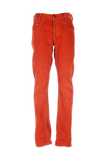 g et star pantalons et decontractes femme de couleur orange