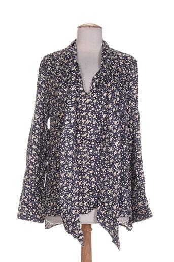 charlise chemises femme de couleur gris