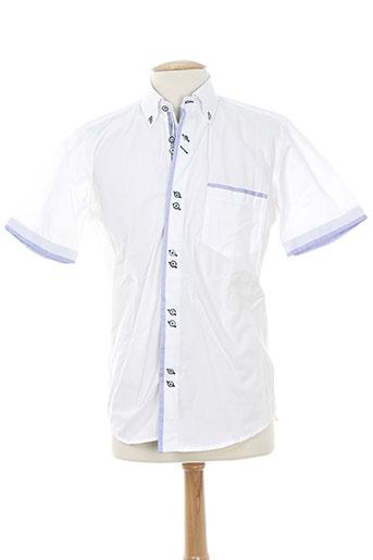 dario beltran chemises homme de couleur blanc