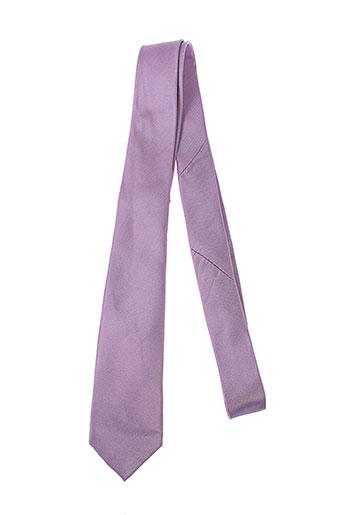jean de sey accessoires homme de couleur violet