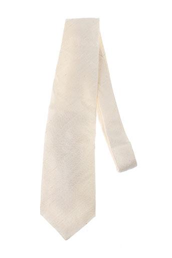 jean de sey accessoires homme de couleur blanc
