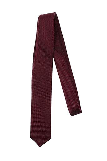olymp accessoires homme de couleur rouge
