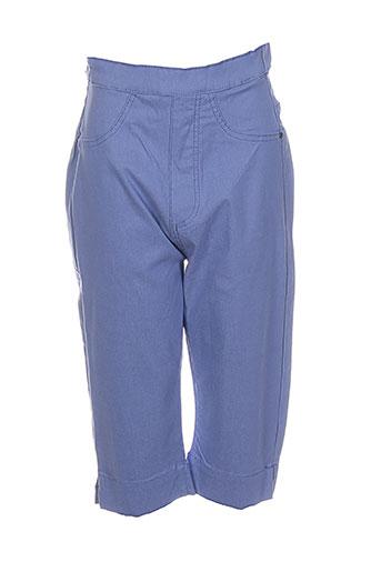 nana belle shorts / bermudas femme de couleur bleu