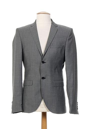 jack EFFI_CHAR_1 jones vestes homme de couleur gris
