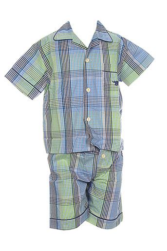 arthur pyjashorts garcon de couleur bleu