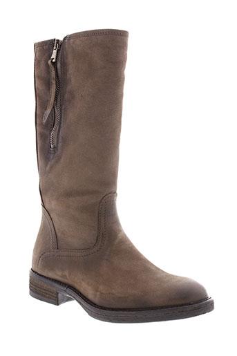 reqins bottes femme de couleur marron
