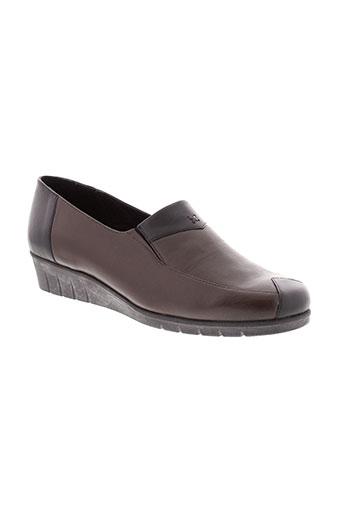 perle de charme chaussures femme de couleur marron