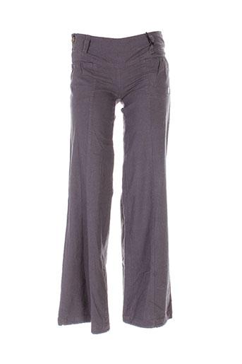 kana et beach pantalons et decontractes femme de couleur gris