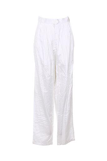 Pantalon chic blanc IPSE ITE pour femme