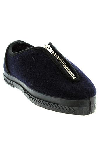 alain videau chaussures femme de couleur bleu