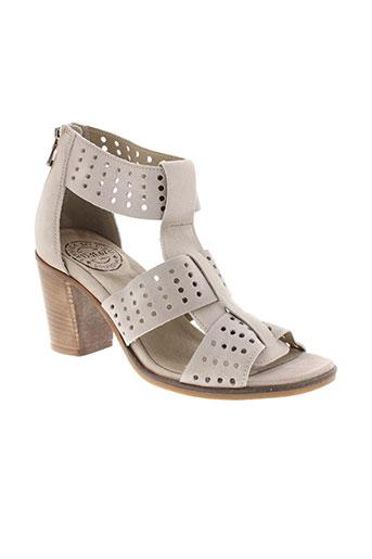fabrica et dei et colli sandales et nu et pieds femme de couleur beige