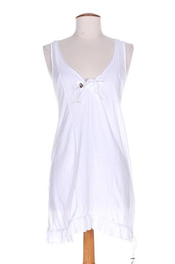 high tuniques femme de couleur blanc