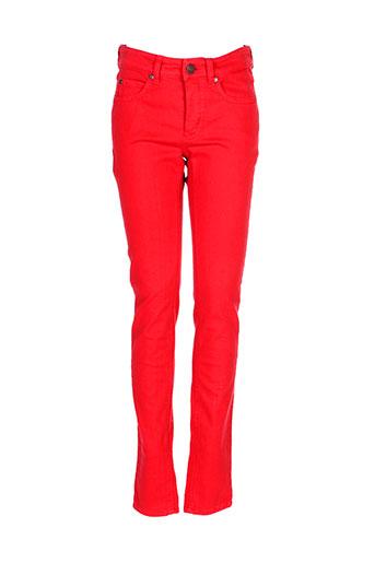 set pantalons femme de couleur rouge