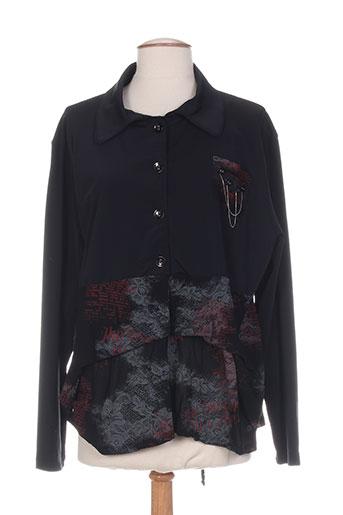 carole richard vestes femme de couleur noir