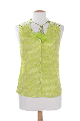 so soon chemises femme de couleur vert