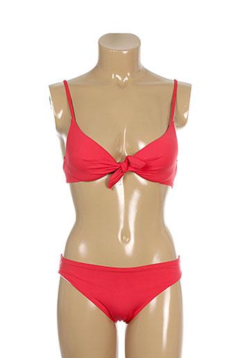 genius maillots de bain femme de couleur rouge