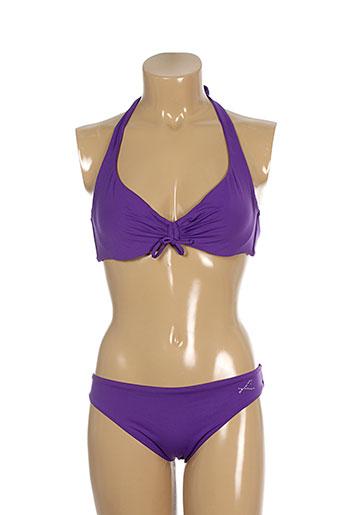 genius maillots de bain femme de couleur violet