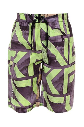 losan maillots de bain garçon de couleur vert
