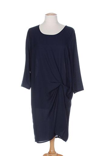 fracomina robes femme de couleur bleu