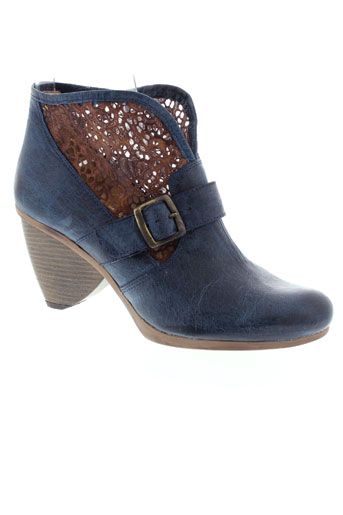 libre et comme et l et air boots femme de couleur bleu