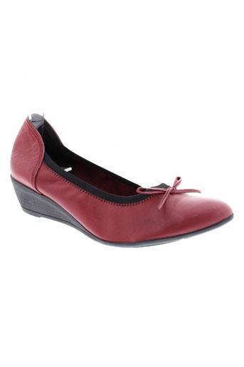 arima escarpins femme de couleur rouge