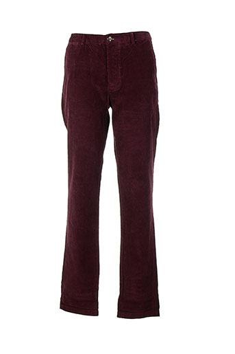 ben sherman pantalons homme de couleur rouge