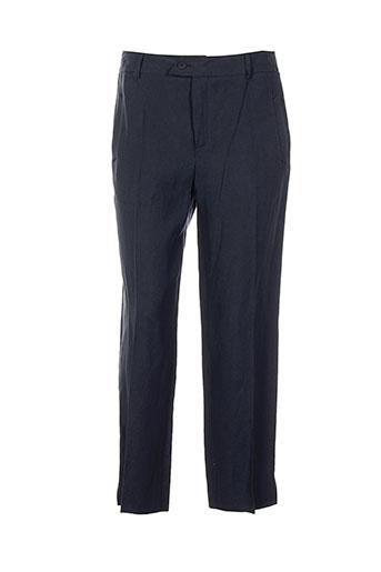 moi cani pantalons femme de couleur bleu