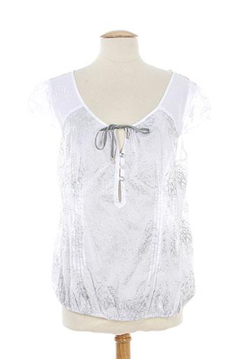 fille des sables chemises femme de couleur blanc