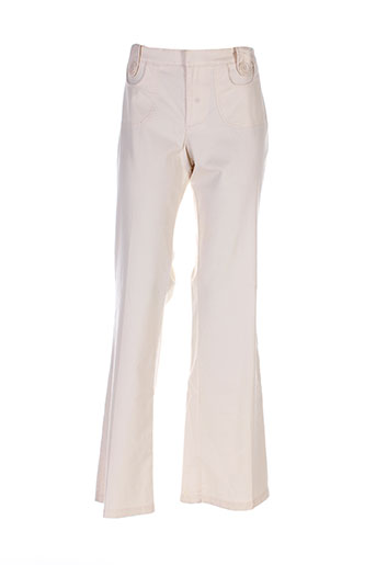 Pantalon casual beige MEXX pour femme