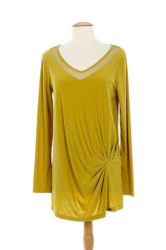3322 tuniques femme de couleur jaune (photo)