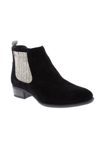 aliwell boots femme de couleur noir