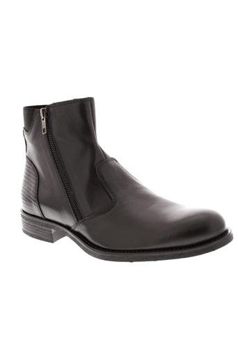 redskins boots homme de couleur noir