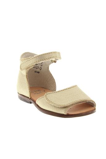 little et mary sandales et nu et pieds fille de couleur jaune